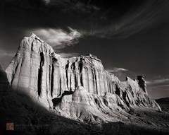 sedimentary, desert, butte, hoodoo, eroded, unique, castle, cliff, Mojave Desert, California