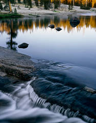 placid, water, Lyell Fork, Tuolumne River, cascade, Yosemite National Park, granite