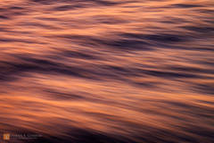 color,photo,picture,water,motion,blur,pan,abstract,ocean,Pacific,sunset,light,ripples,waves, orange,red