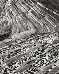 Grand Staircase-Escalante, Moqui, Moki, marble, stone, marbles, sandstone, geology, Great Basin, black and white, fine art photograph, fine art print, photo, picture