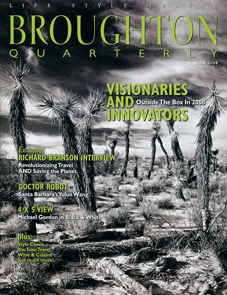 Broughton Quarterly, publication, photo