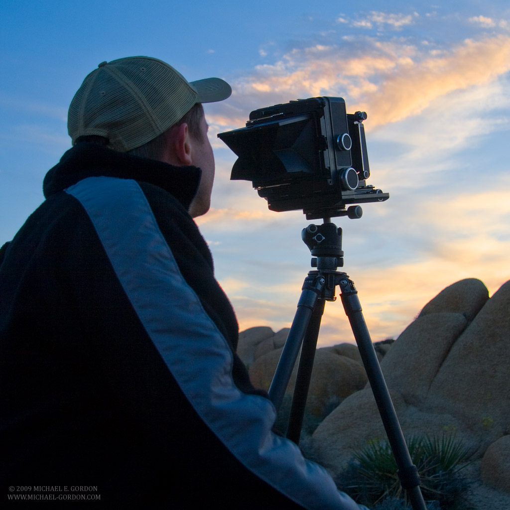 Introduction to Large Format Photography workshop – Death Valley National Park