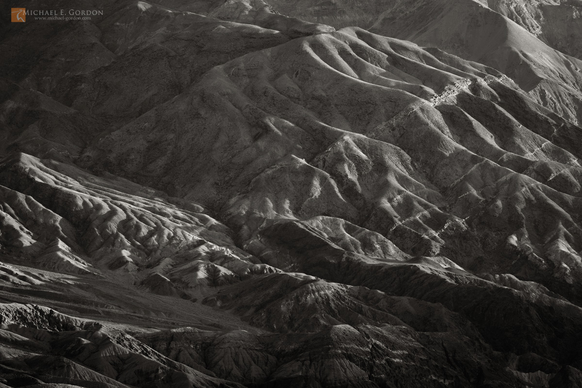 photo,picture,Light,long,shadows,landforms,slopes,erosion,canyons,Death Valley,Black Mountains, photo