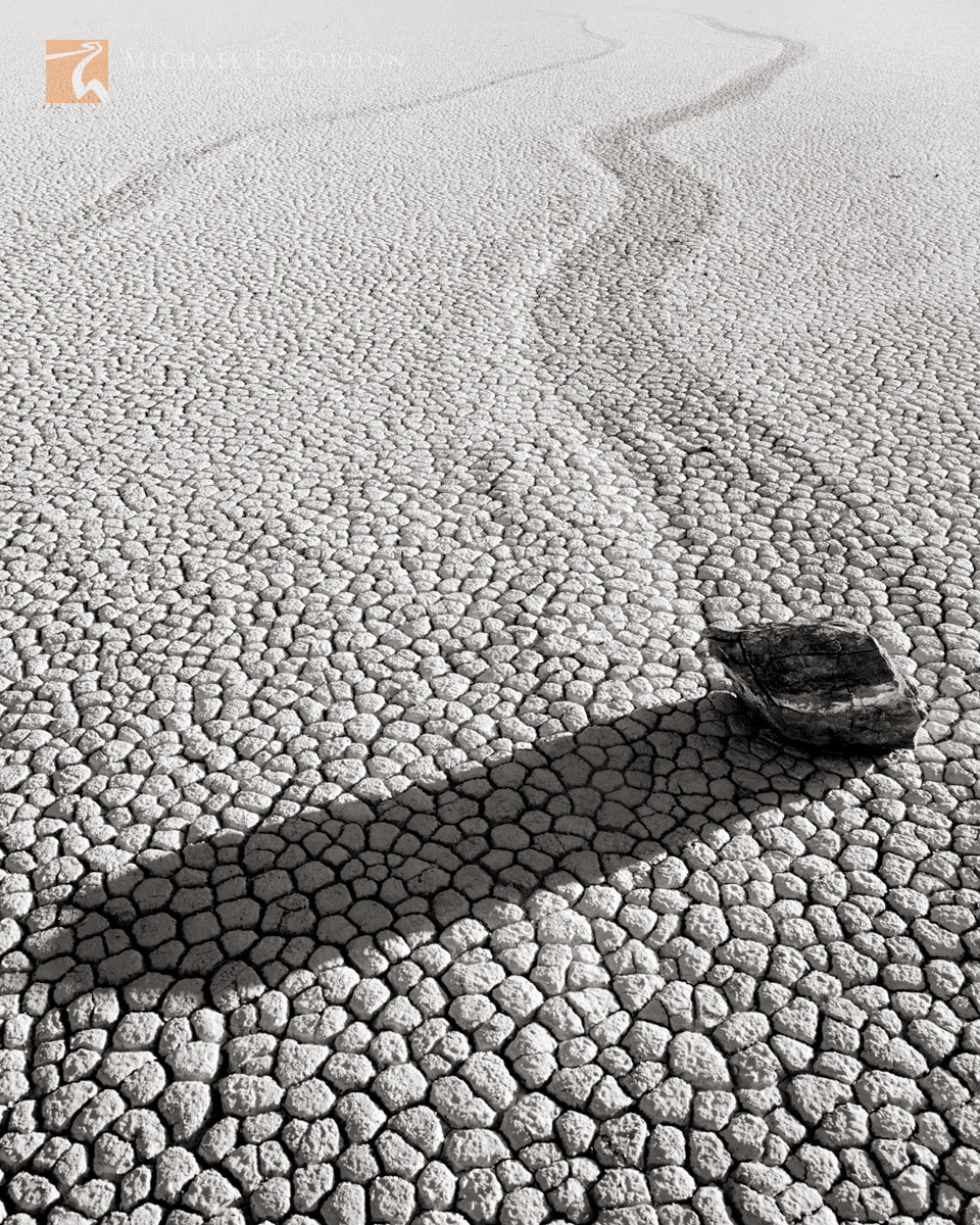 Racetrack, Death Valley, California, mysterious, unique, calligraphic, calligraphy, tracks, sliding, stones, photo