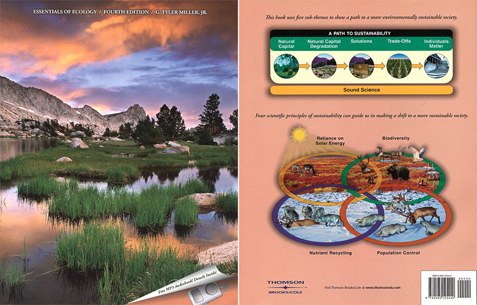Essentials of Ecology, publication, photo