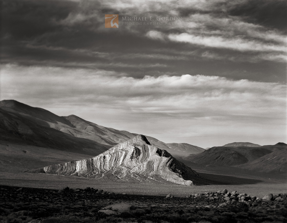 Striped Butte, stratified, Death Valley, limestone, layers, , photo